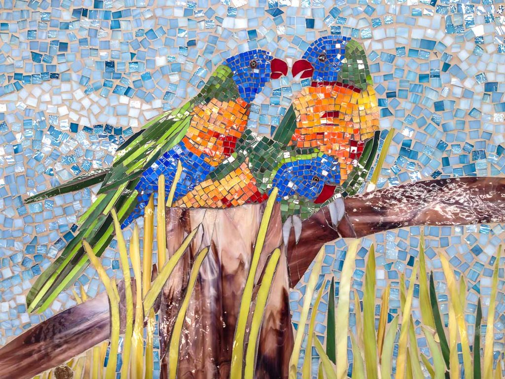 Artist: Anne Fuller Title: Birds of a Feather