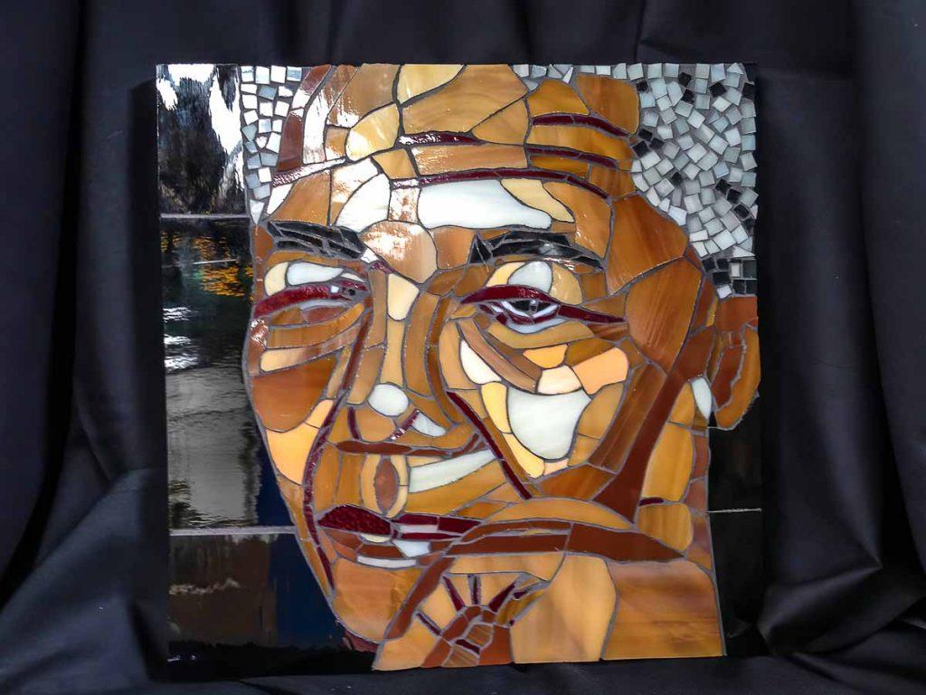 Artist: Lyn Coad Title: Nelson Mandela