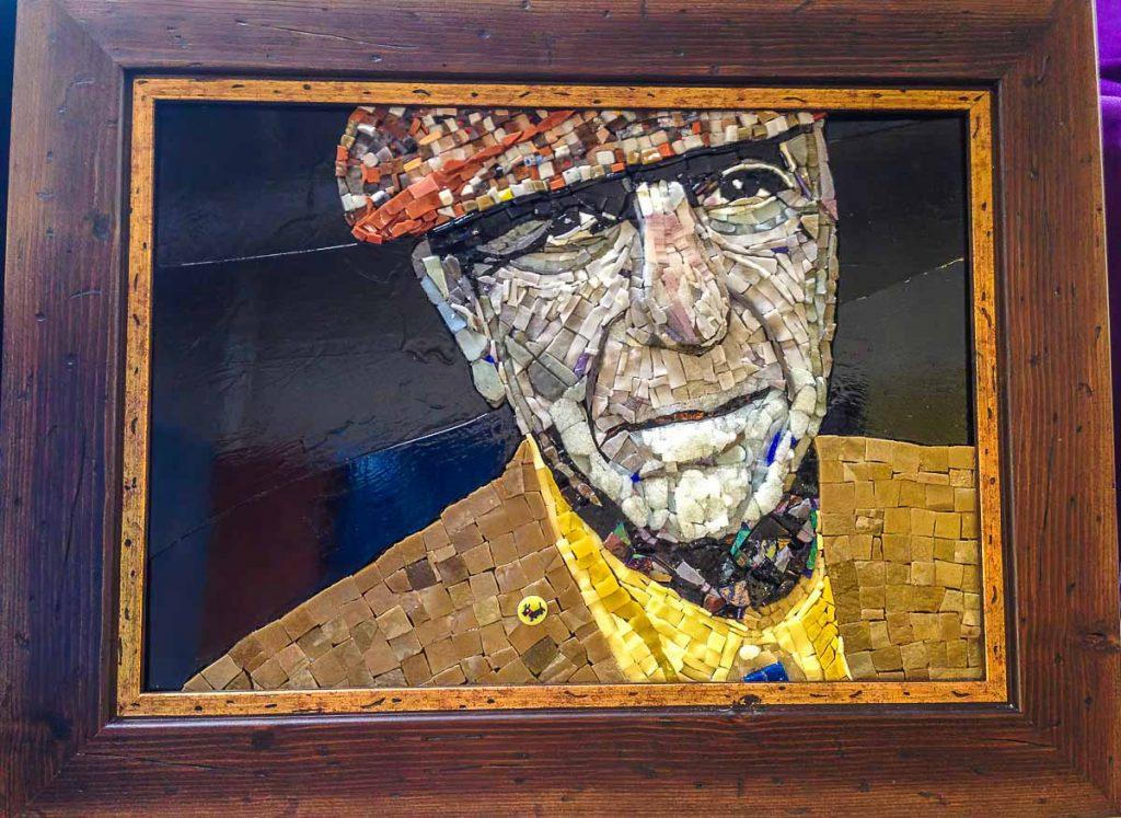 Artist: Susan Woenne-Green Title: Leonard Cohen