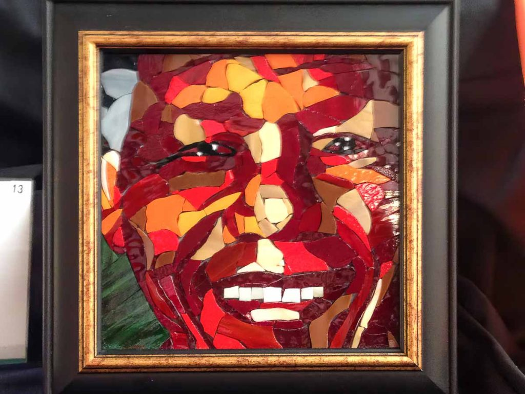 Artist: Beate Linckelmann Title: Nelson Mandela