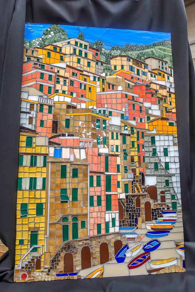 Artist: Lyn Coad Title: Italian Fishing Village