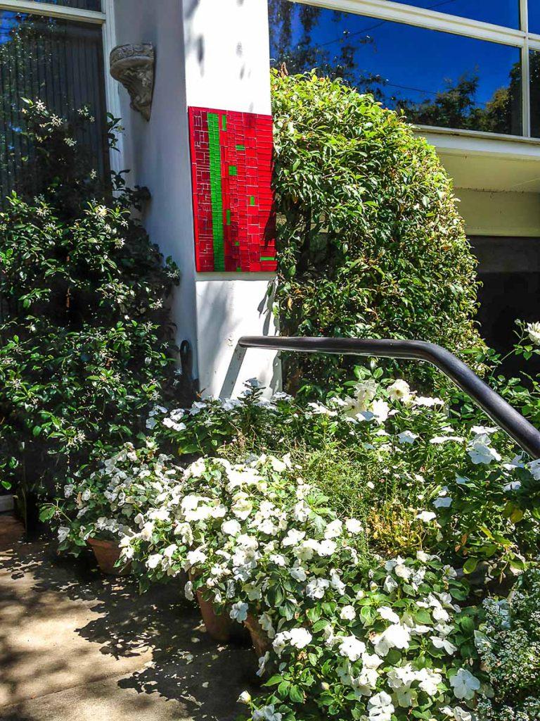 Artist: Elizabeth White Title: Garden Feature