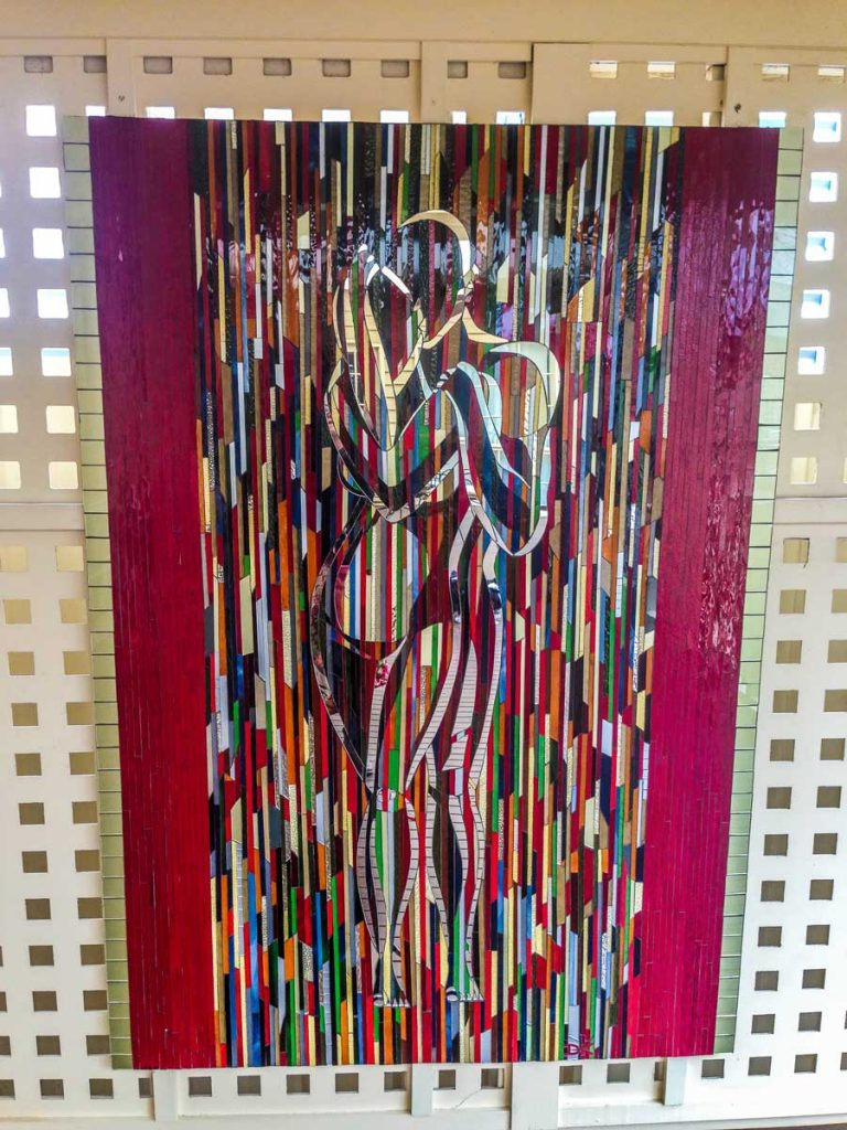 1.2m x 1.8m stained glass mosaic. Private commission Somerton Park