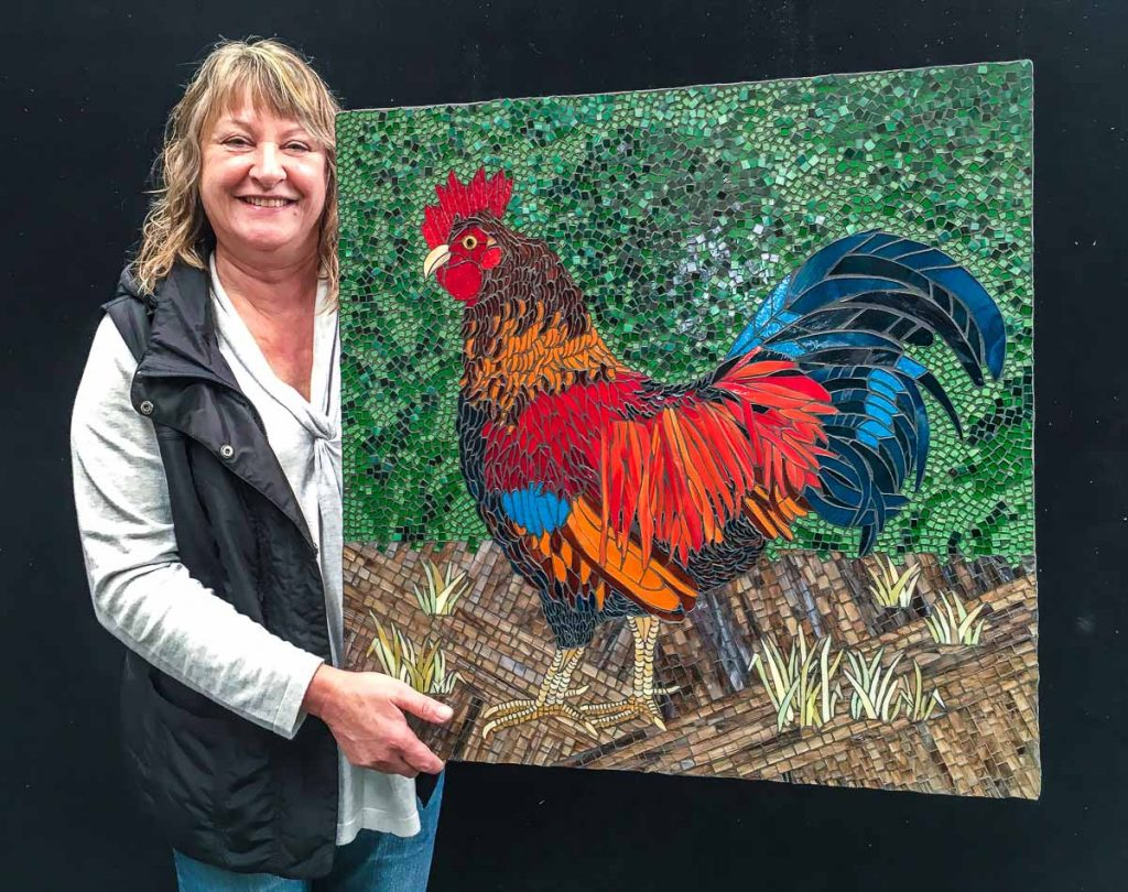Donatello the Rooster by Jackie Molloy