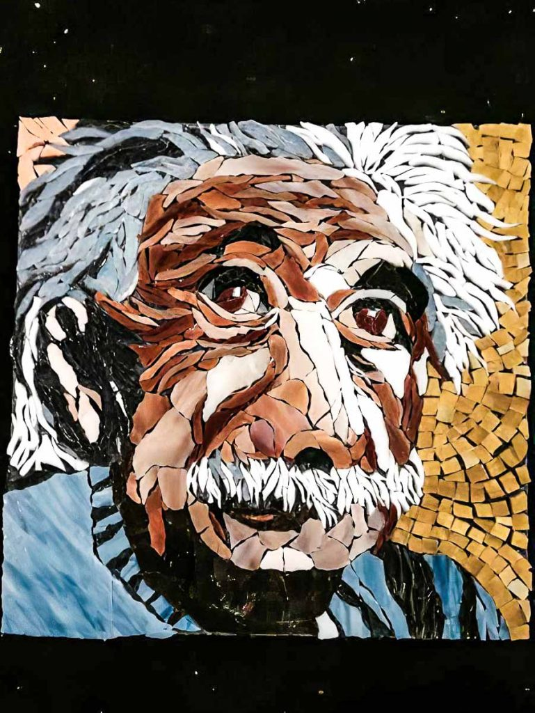 Jenny's Einstein portrait