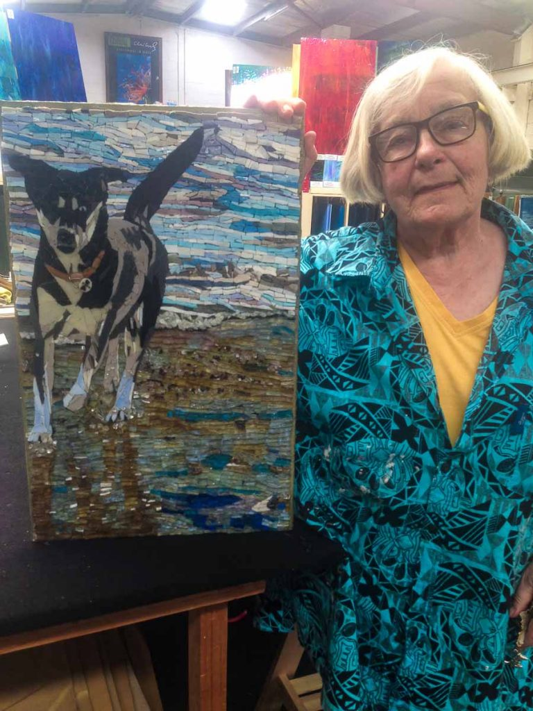 Susan Woenne-Green and her first commission