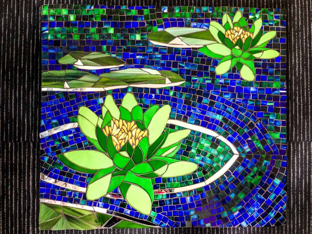 Artist: Joy Lazaroff Title: Lily Pond