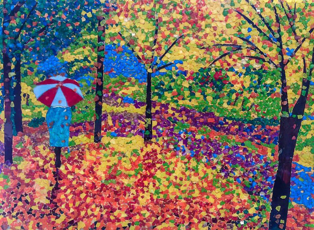 Artist: Anne Fuller Title: Autumn Scene