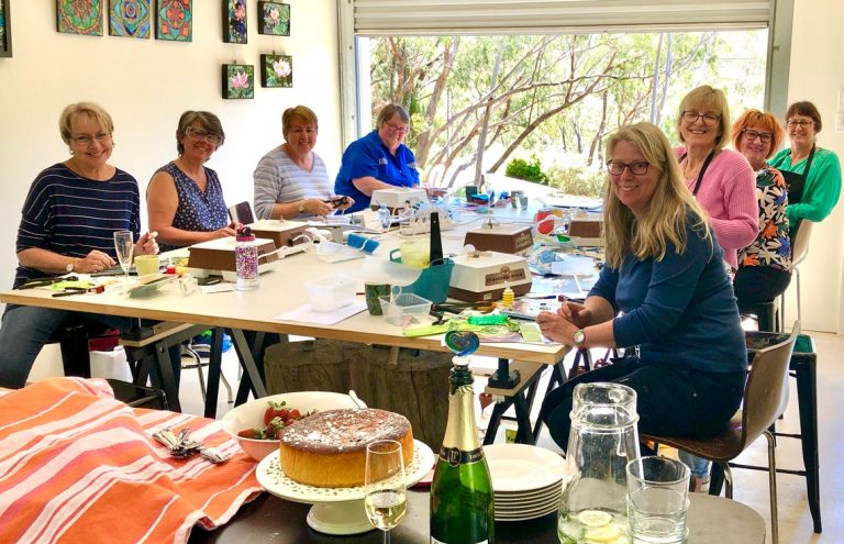 weekly mosaic classes at mosaics by design studio blackwood