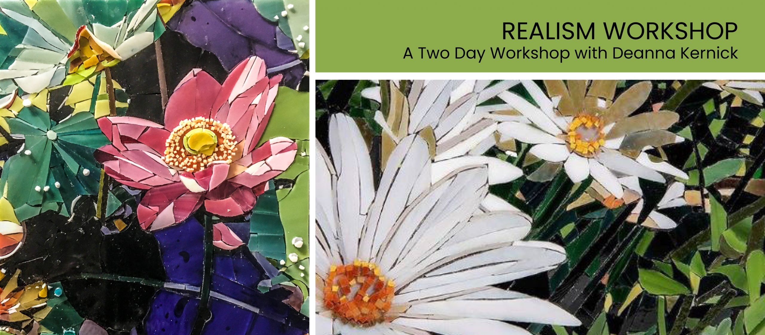realism mosaic workshop