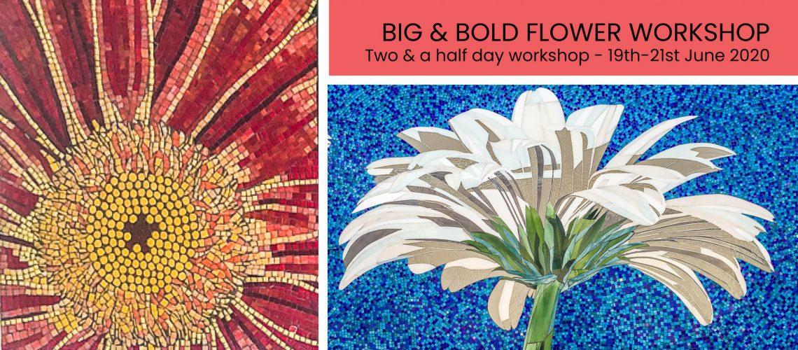 Big and Bold Flower Mosaic Workshop