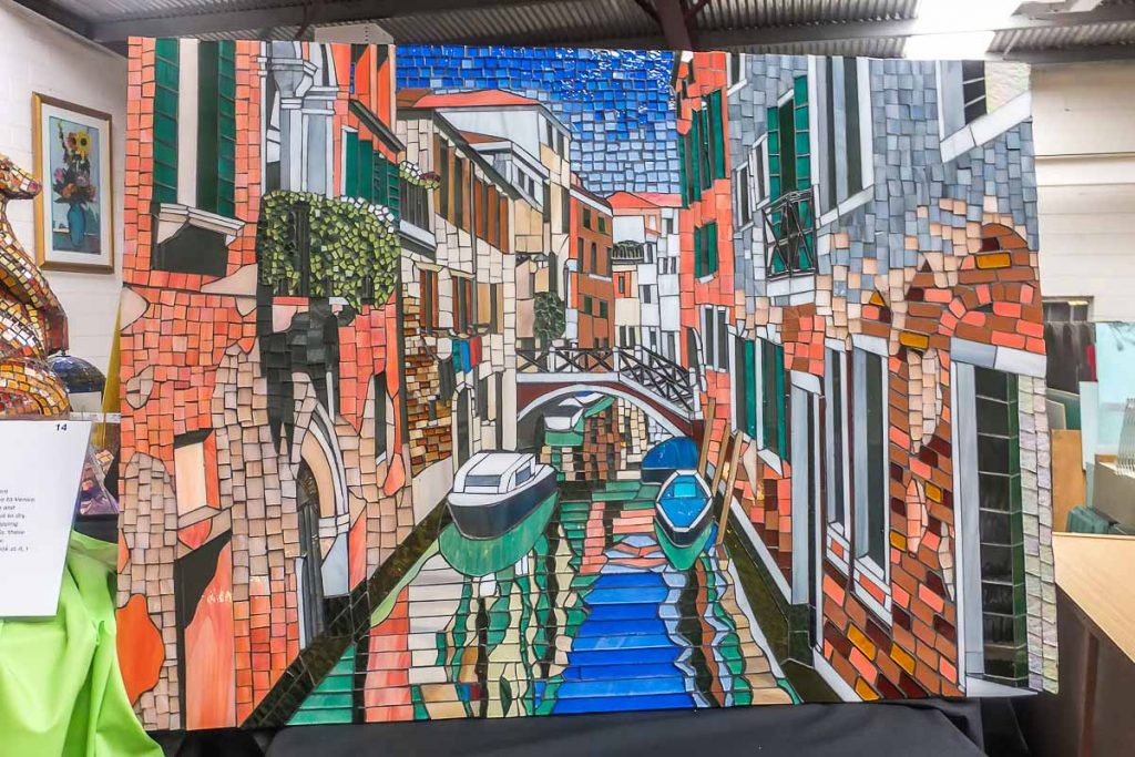 Artist: Julie Aldridge Title: Venice