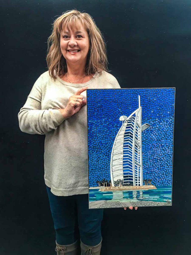Burj al Arab - a gift for her brother by Cindy Brownrigg