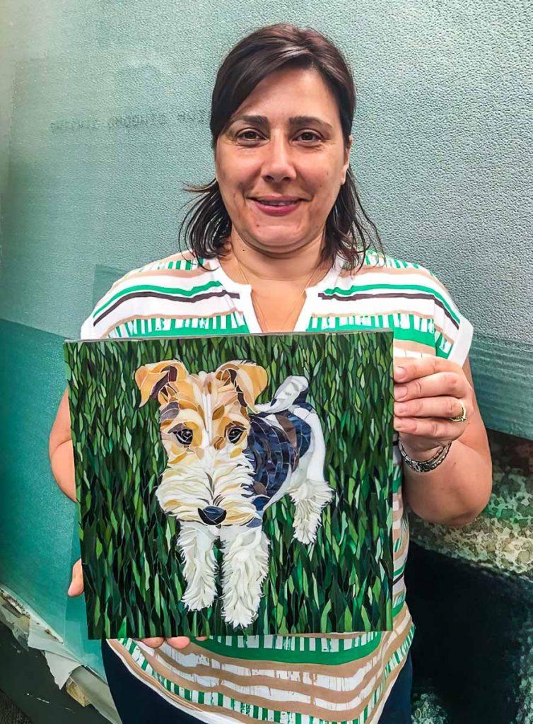 Nina D'Antonio's dog portrait