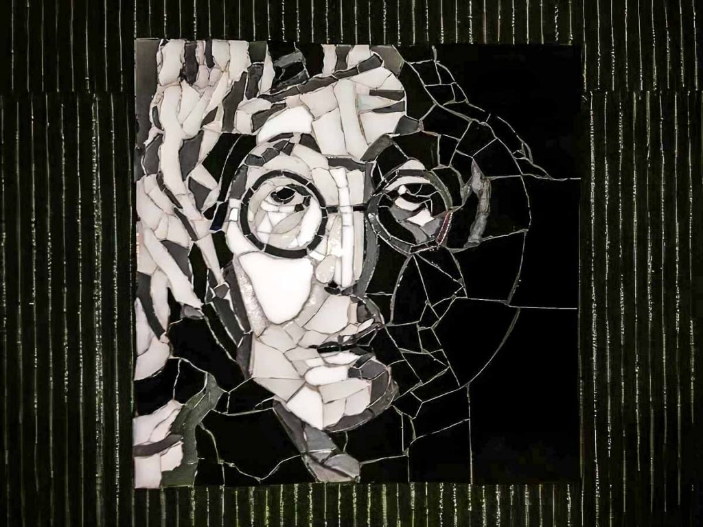 Leonie Duffy's John Lennon portrait