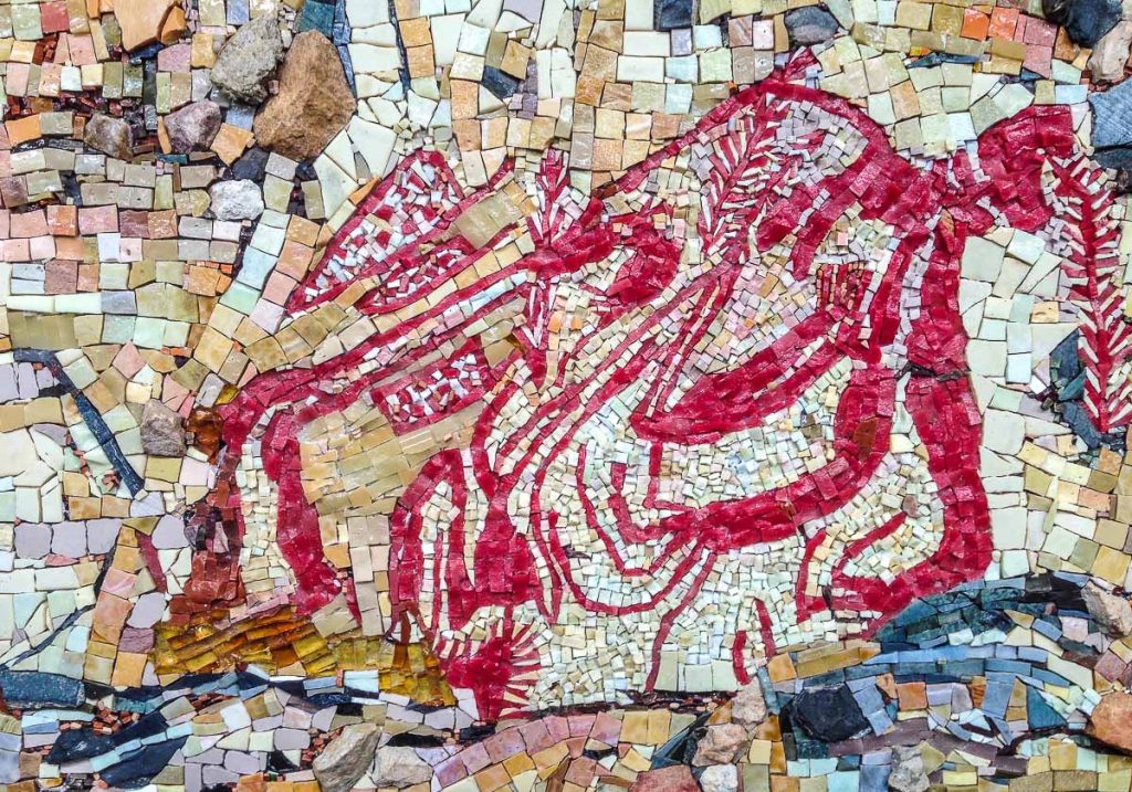 Rock Painting mosaic by Susan Woenne-Green