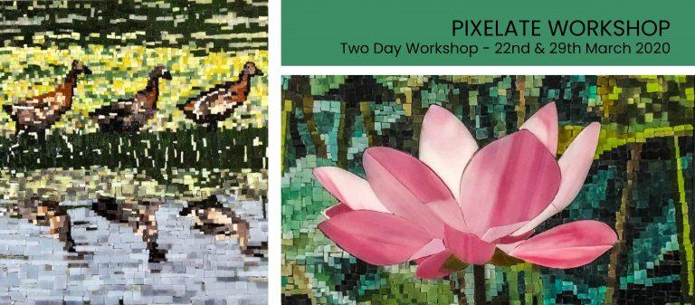 pixelate mosaic workshop